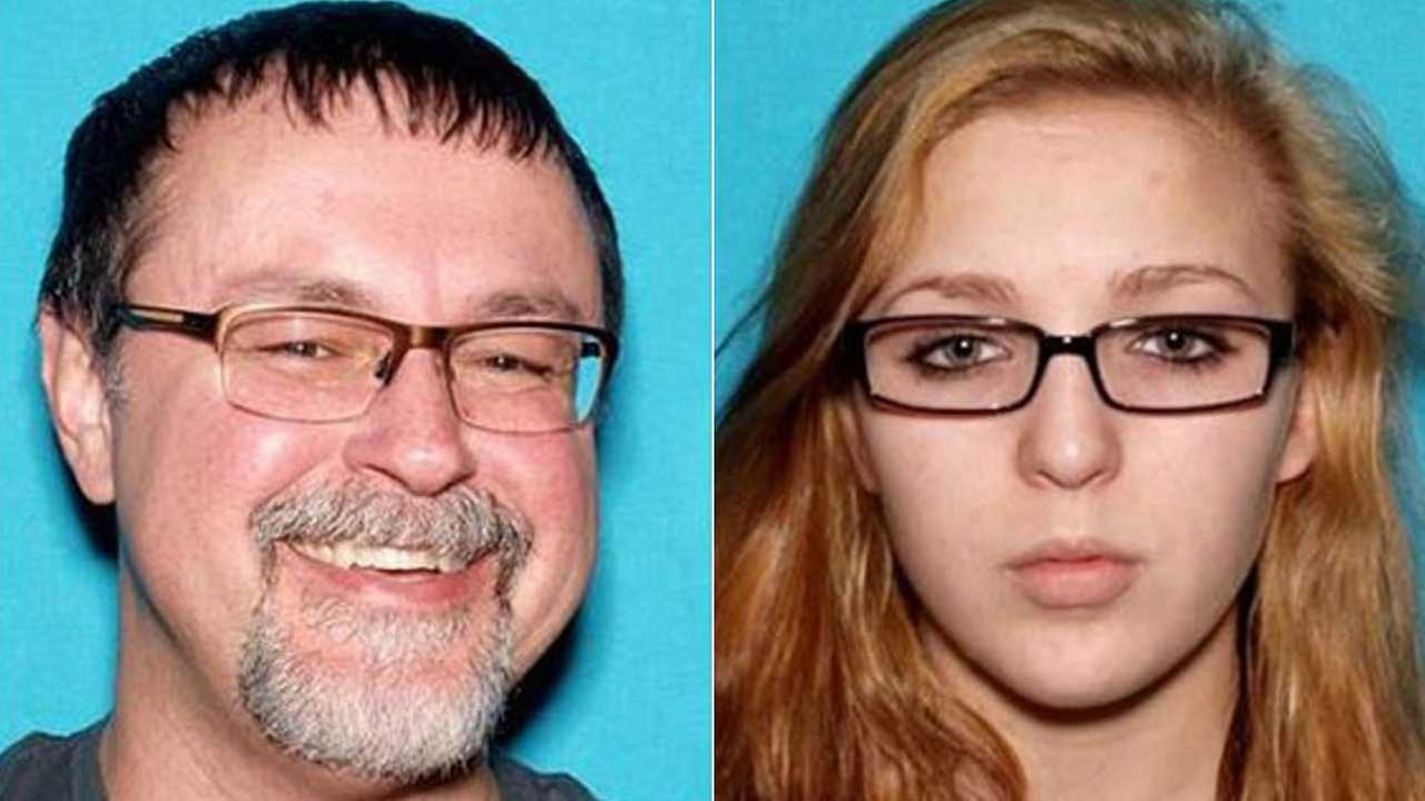 Elizabeth Thompson, 15, and Tad Cummins, 50 are seen in file photos.