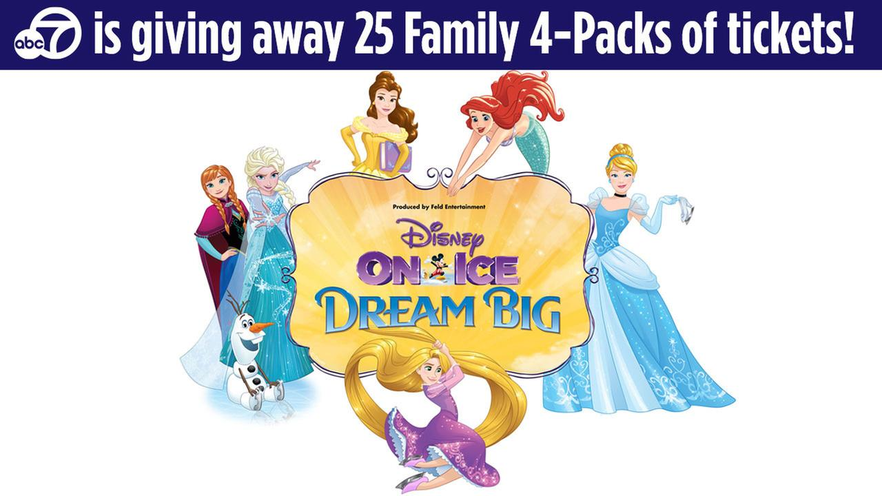 Enter for your chance to win tickets to see Disney On Ice presents Dream Big in Ontario!
