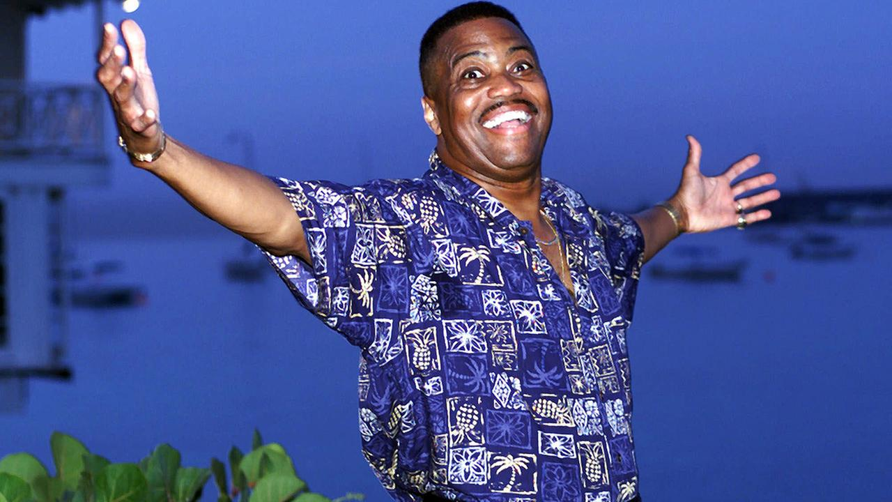 Cuba Gooding Sr., lead vocalist of The Main Ingredient, and father of Oscar winning actor Cuba Gooding Jr., in Bridgetown, Barbados, Wednesday, Aug. 18, 1999.AP Photo/Chris Brandis