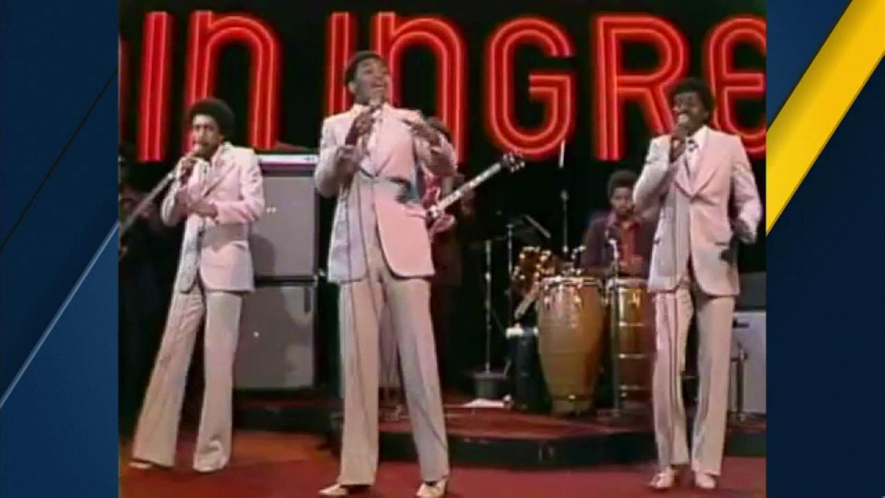 Cuba Gooding Sr., pictured with his 1970s soul group The Main Ingredient.