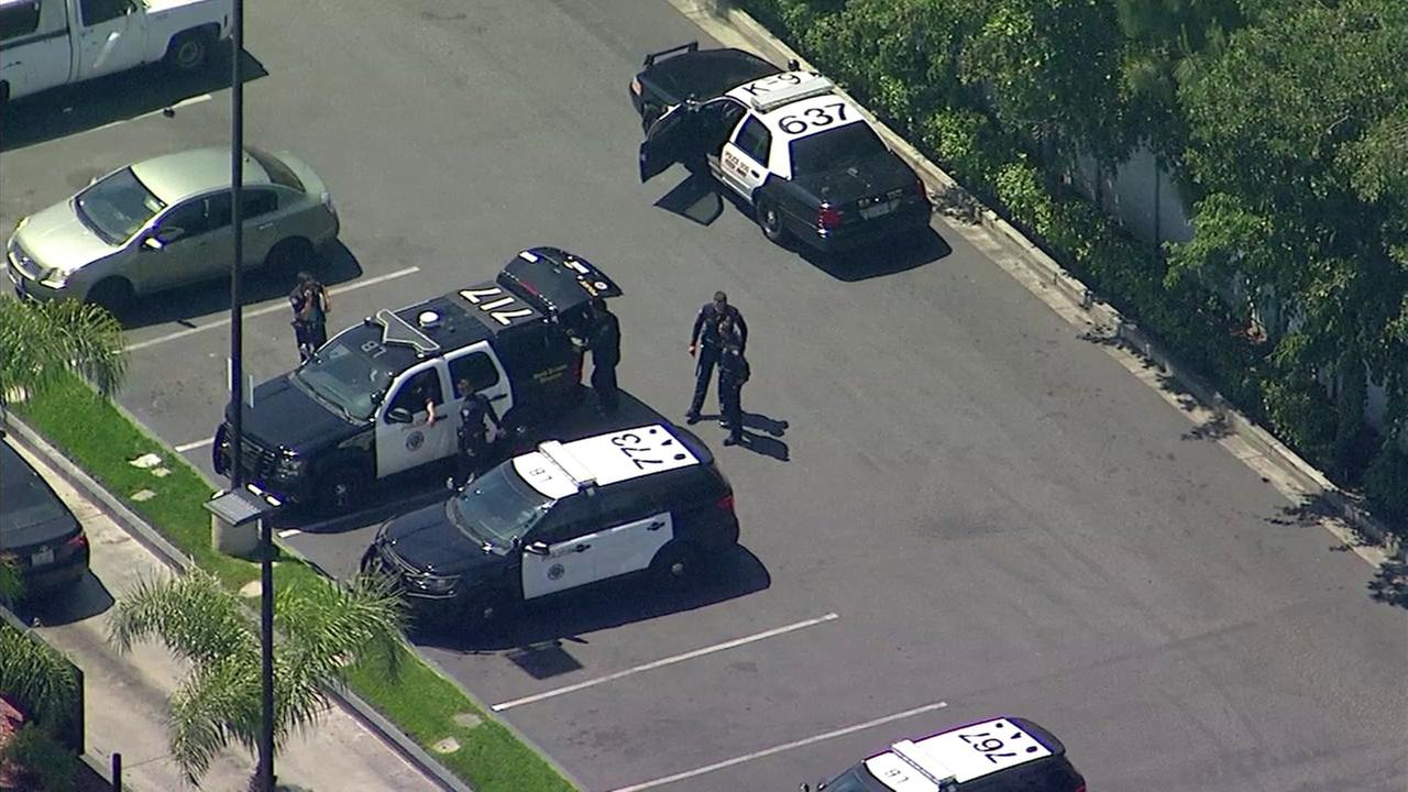 1 dead in shooting at Long Beach motel; nearby residents evacuated amid search for suspect