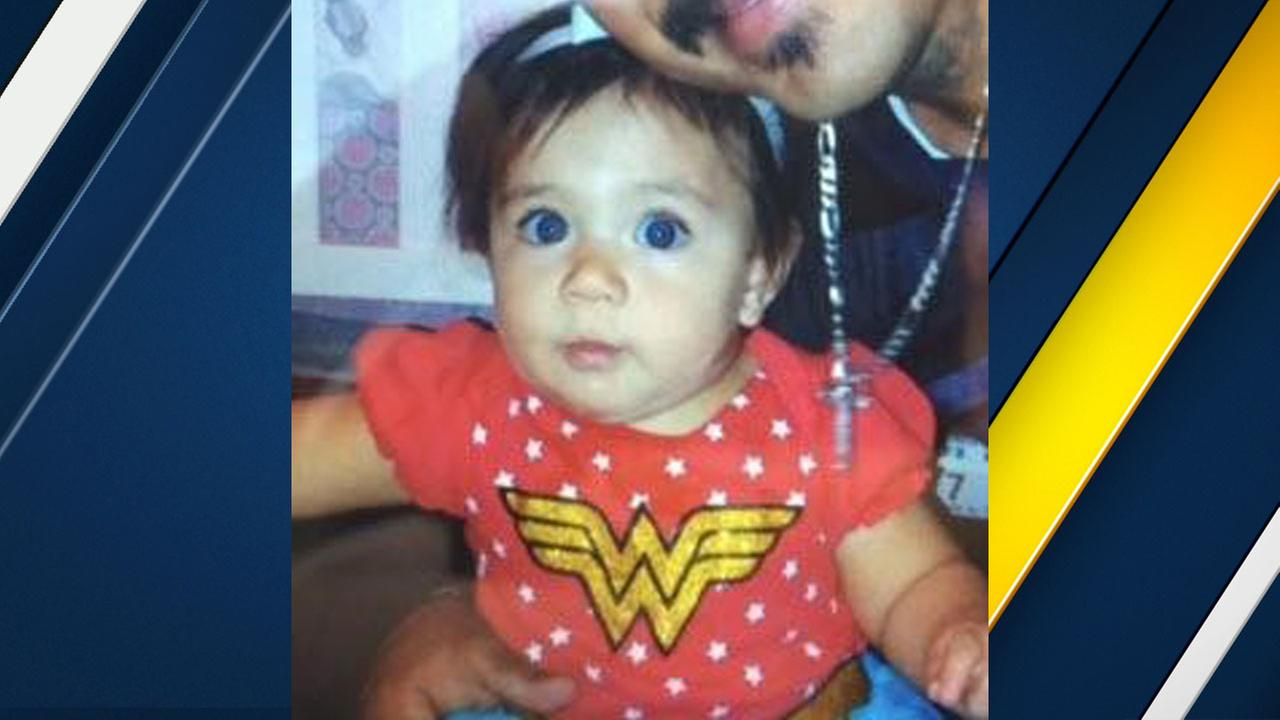 Lexi Segura, 1, of Rancho Cucamonga, is shown in an undated photo.