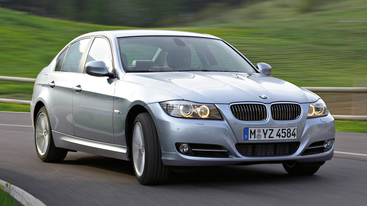 This undated photo provided by BMW AG shows the 2009 BMW 3-Series sedan.