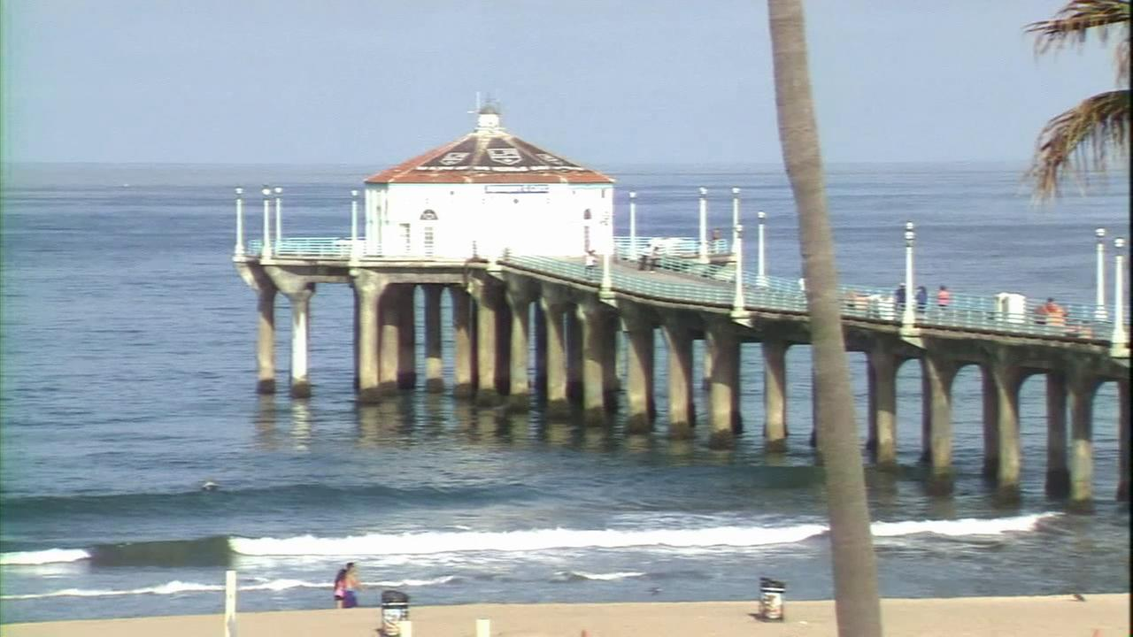 The Manhattan Beach Pier is seen in this undated file photo.