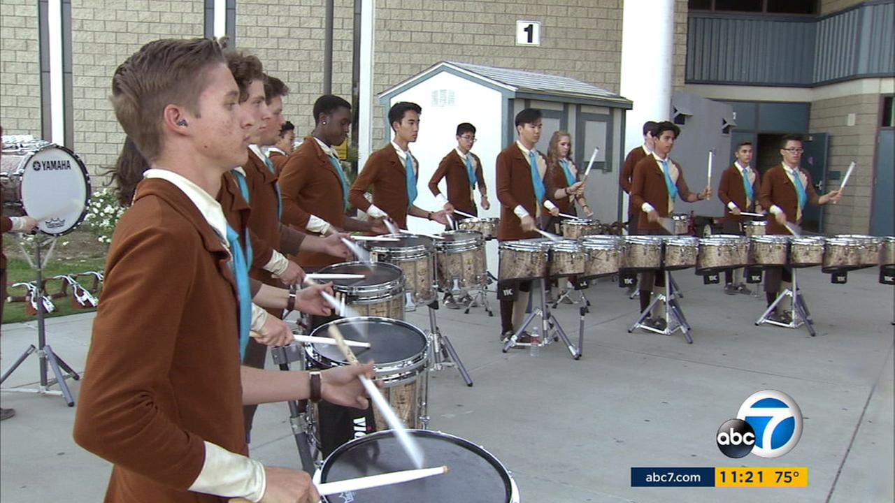 The Chino Hills High School drumline took home first prize at the WGI Percussion World Championships last weekend.