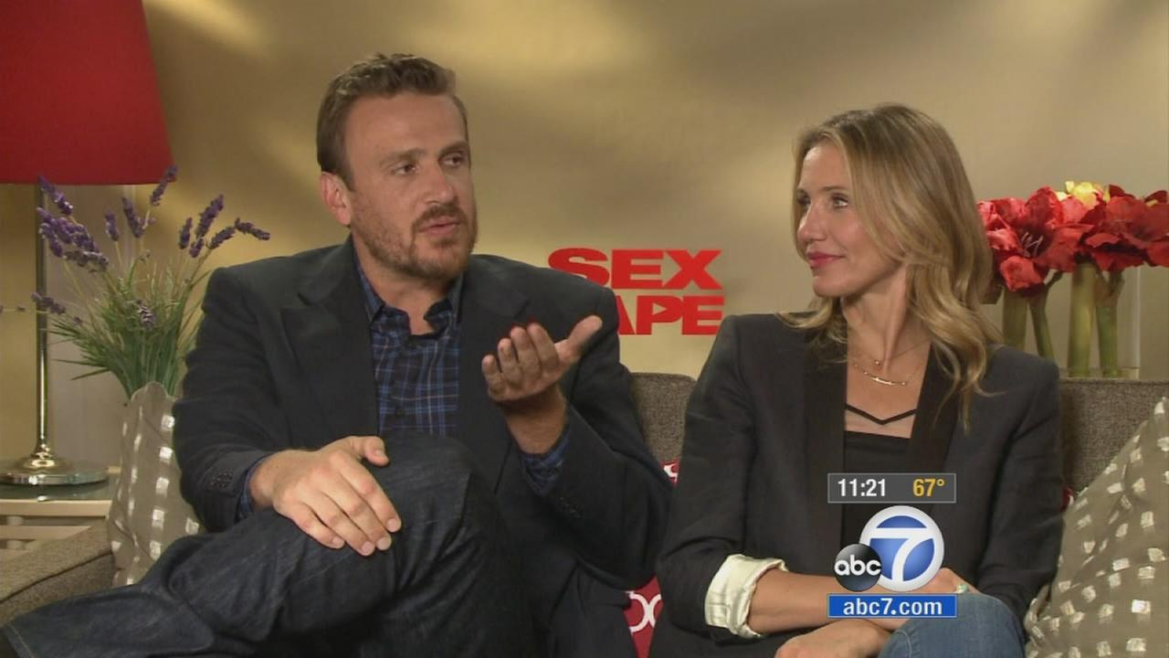 Cameron Diaz and Jason Segel play a married couple who decide to spice things up by filming a sex tape.