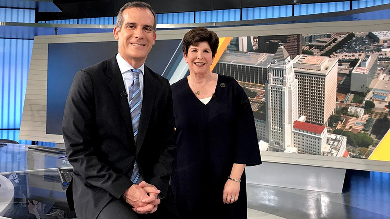 Mayor Eric Garcetti discussed plans for his big goals during his second term on Eyewitness Newsmakers with Adrienne Alpert.
