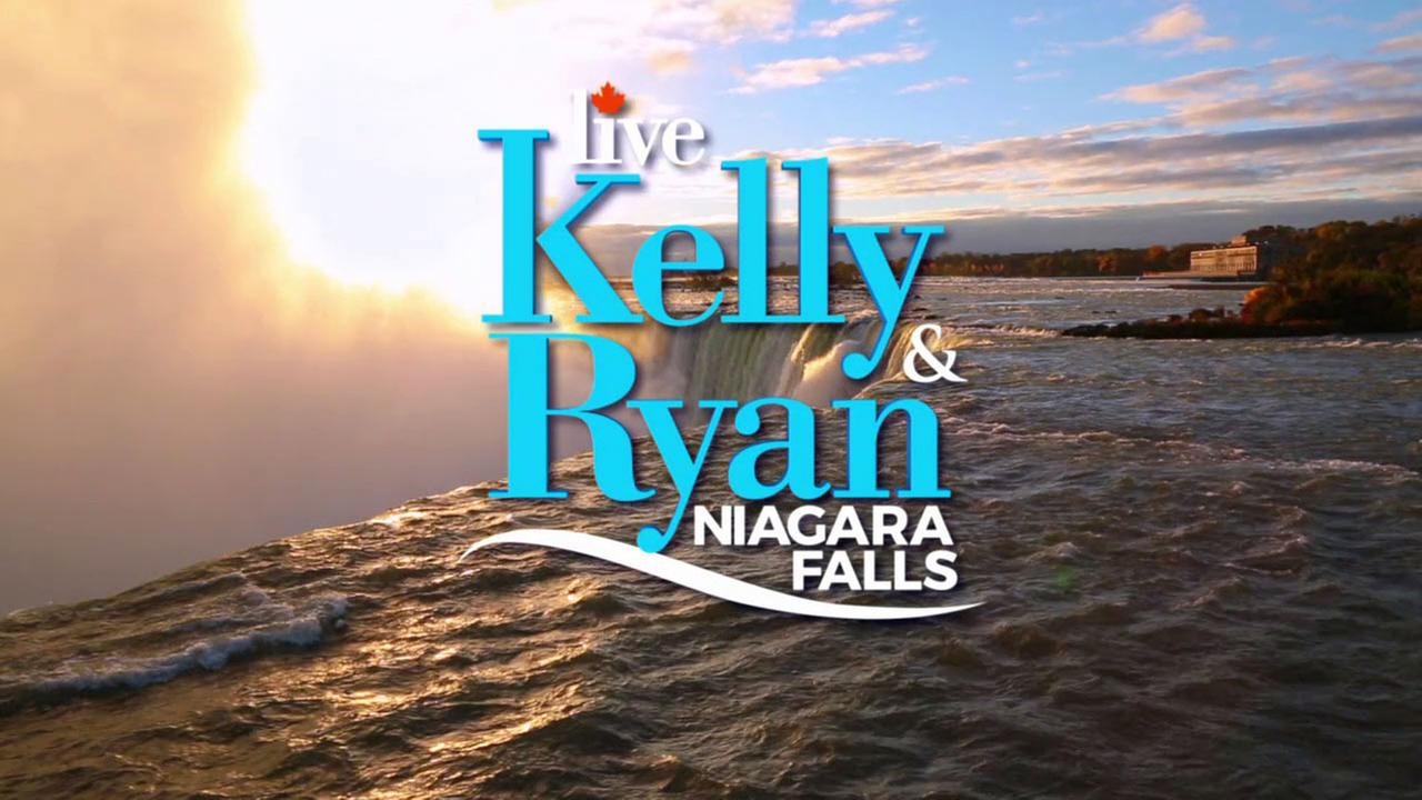 ABC7's 'Live with Kelly and Ryan' Niagara Falls Giveaway