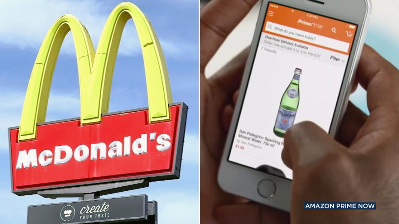 McDelivery and Amazon alcohol delivery will be coming to Los Angeles.