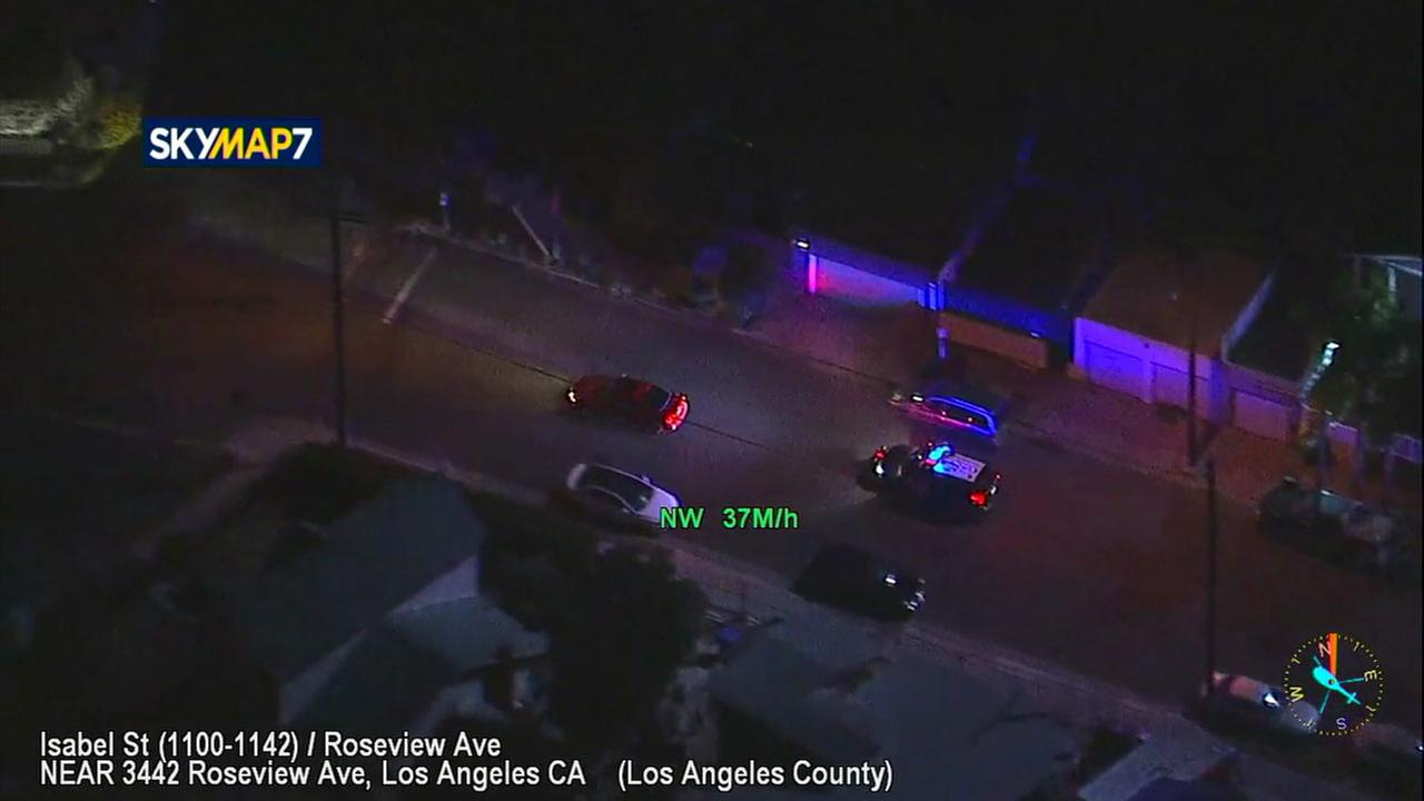 Authorities chase reckless driver on surface streets all over Los Angeles