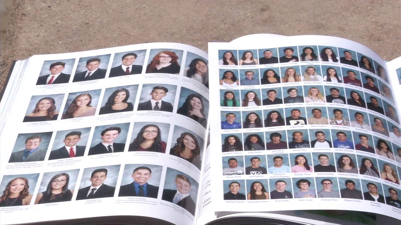 After about 70 students were left out of the La Habra High School yearbook, the school printed a supplement with their photos.