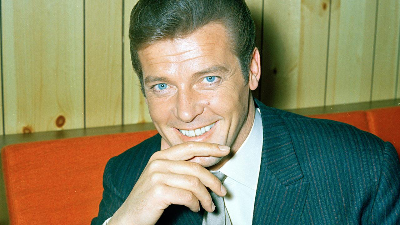 FILE - This is a May 1968 file photo of British actor Roger Moore of The Saint and James Bond fame.