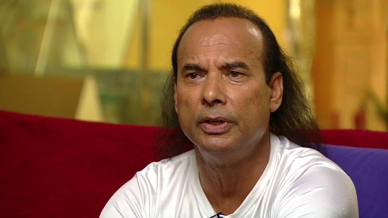 Bikram Choudhury, who is known as the founder of hot yoga, is shown in an undated photo.