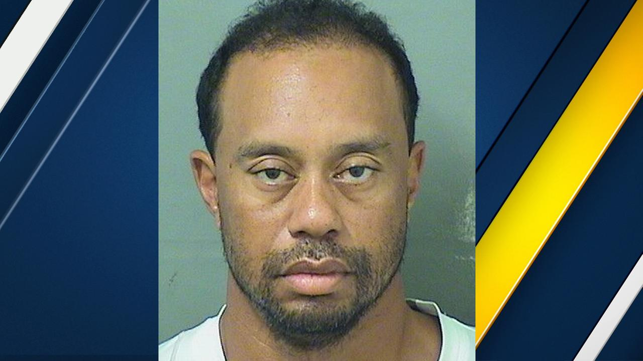 A mugshot photo of professional golfer Tiger Woods, who was arrested in Florida Monday, May 29, 2017, for DUI.