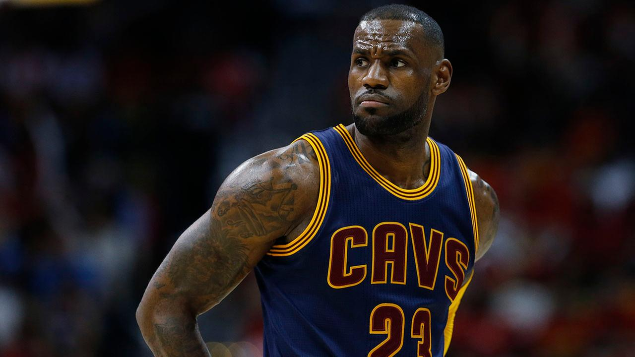 Racial slur sprayed on LeBron James' Los Angeles home, cops say