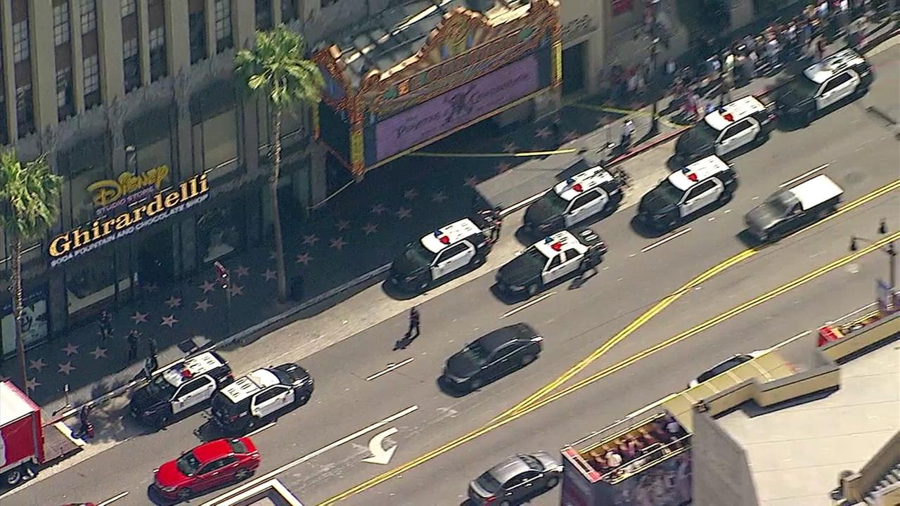 Pit bull shot by off-duty officers near popular Ghirardelli shop in Hollywood