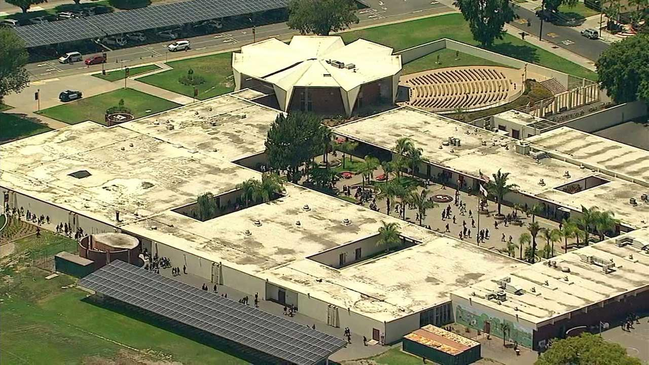 10 Santa Ana students hospitalized after taking unknown substance