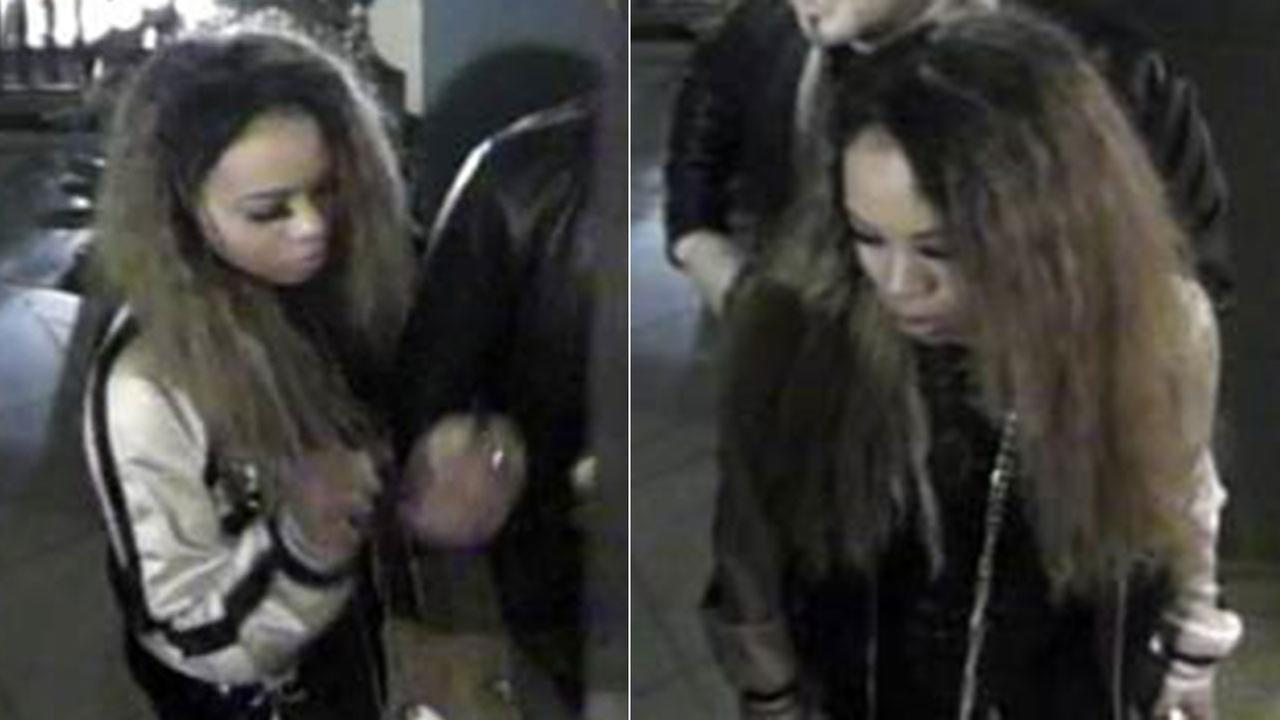 Los Angeles police are looking for this woman, suspected of drugging and robbing men she met at a Hollywood nightclub on March 5, 2017.
