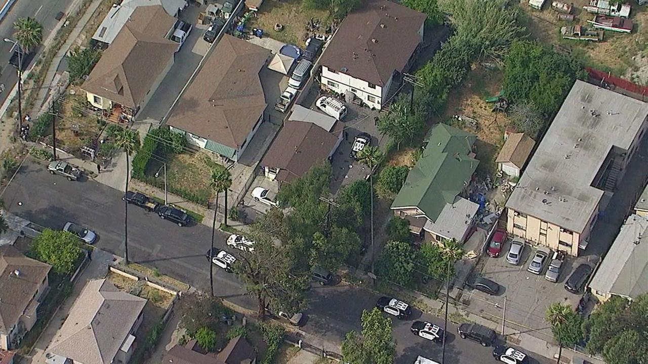 Teen suspect injured in officer-involved shooting in El Sereno