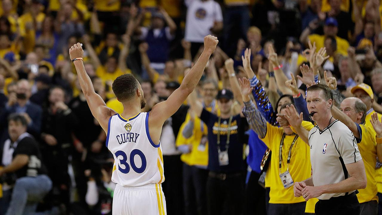 Golden State Warriors Win Second NBA Championship In Three Seasons