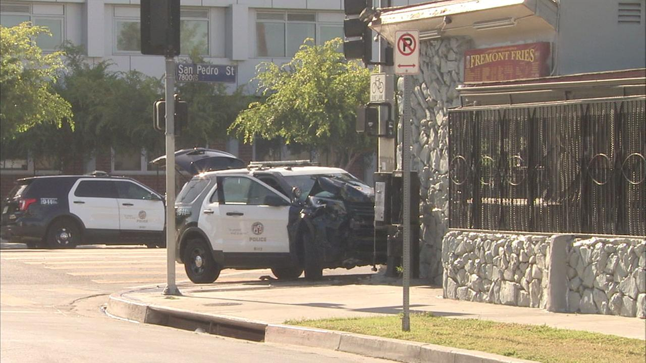 Teen LAPD Cadets Suspected Of Stealing, Crashing Cruisers And Posing As Officers