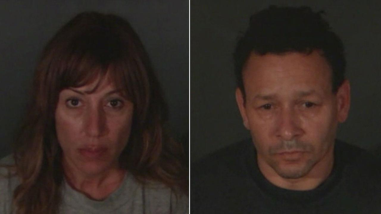 Monica Sementilli, 45, and Robert Baker, 55, are shown in mugshots during a Thursday, June 16, 2017, press conference.