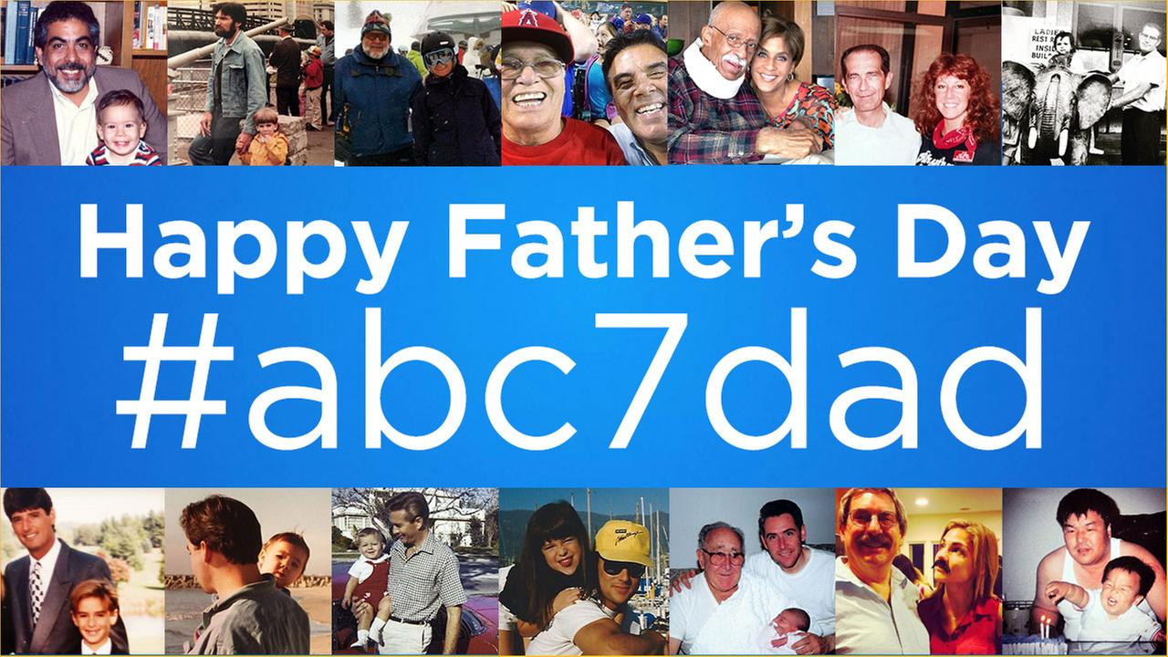 See photos of dads shared by ABC7 viewers in honor of Fathers Day.