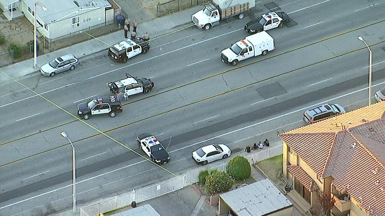 Suspect killed in deputy-involved shooting in Palmdale, authorities say