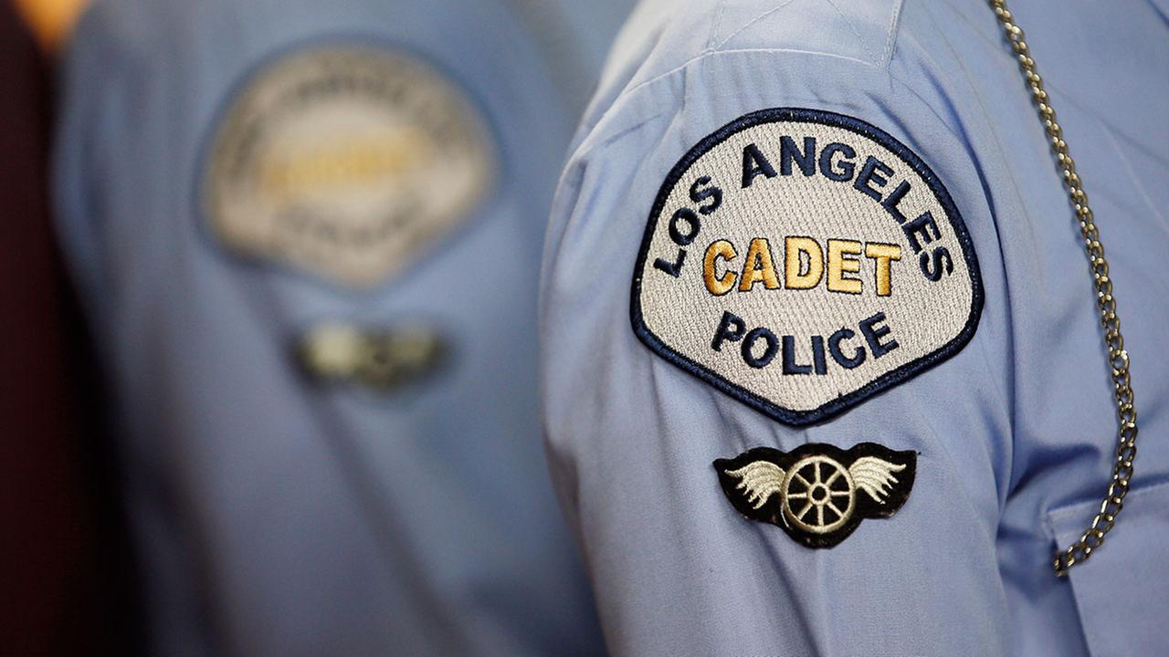 LAPD officer arrested for alleged sex with cadet