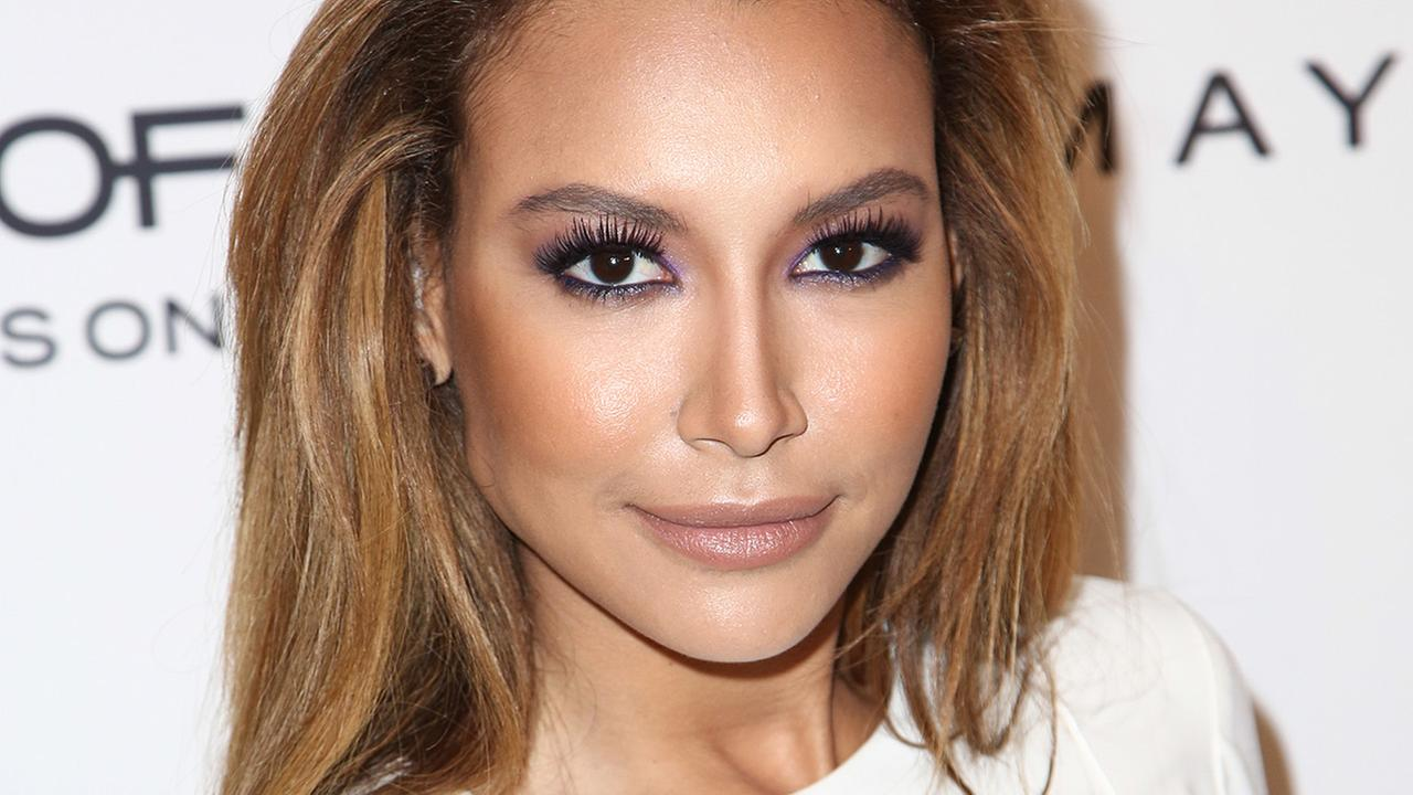 Naya Rivera seen at the Marie Claire Fresh Faces Party, on Tuesday, April 8, 2014 in West Hollywood, California.