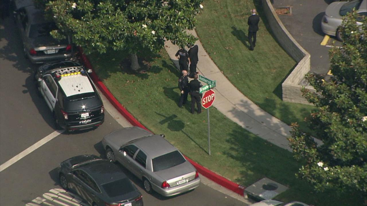 Police said an officer involved shooting has occurred in the 1400 block of Broadway in Burbank.
