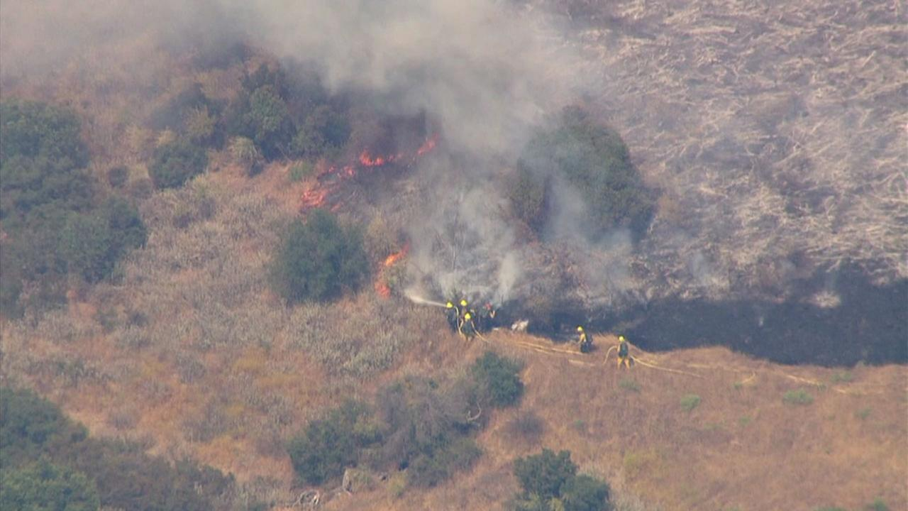 Brush Fires Break Out in Malibu, Calabasas