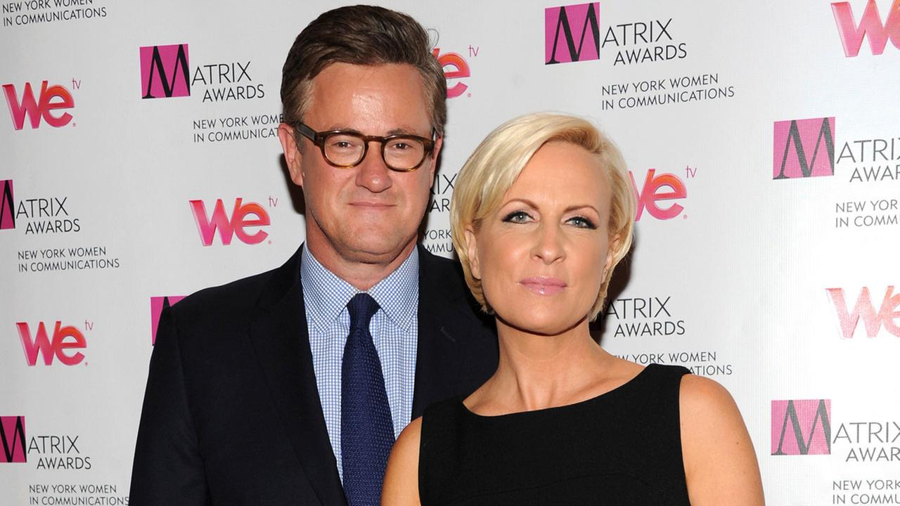 In this Monday April 22, 2013, file photo, MSNBCs Morning Joe co-hosts Joe Scarborough and Mika Brzezinski attend the 2013 Matrix New York Women in Communications Awards.