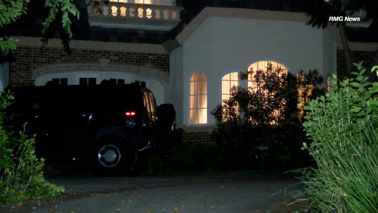 A multimillion-dollar mansion in Arcadia where a violent home invasion robbery took place on Thursday, June 29, 2017.