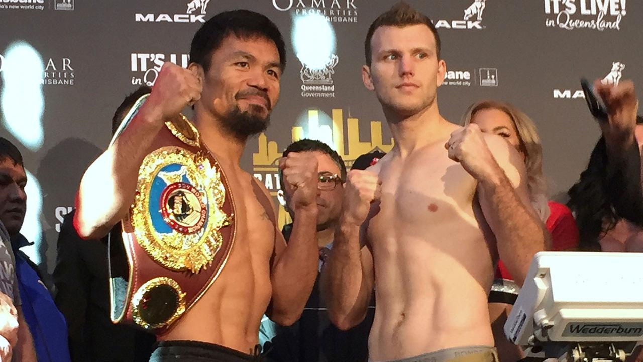 Manny Pacquiao loses WBO world welterweight title to Jeff Horn