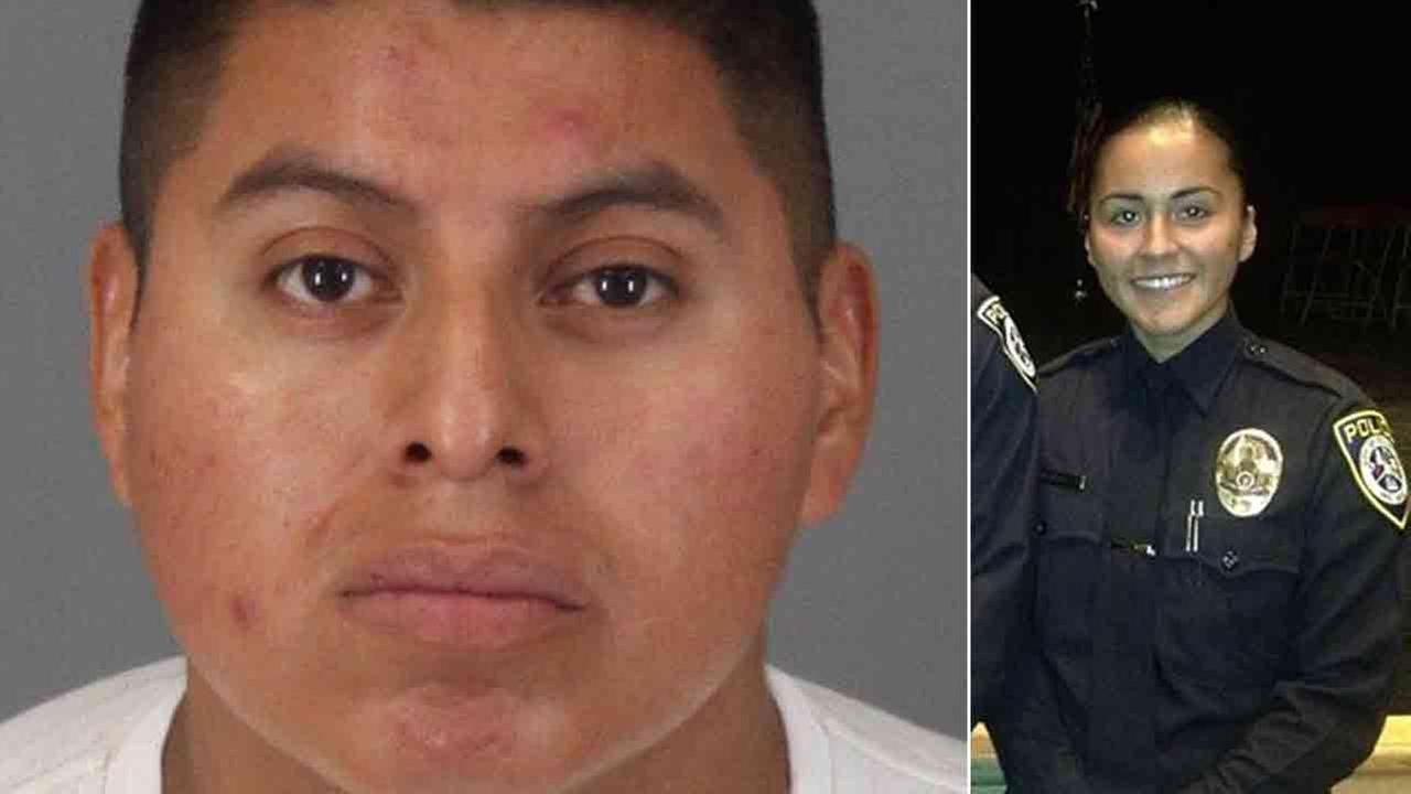 Freddy Perez-Rodas, 27, allegedly fatally shot his wife, Laura Perez, who was a police officer with the Escondido Police Department Wednesday July 23, 2014.