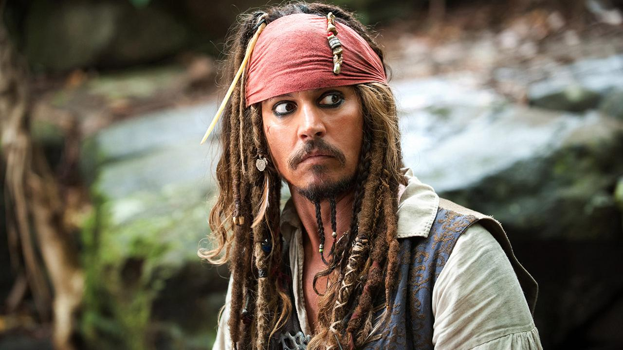 In this file film publicity image released by Disney, Johnny Depp portrays Captain Jack Sparrow in a scene from, Pirates of the Caribbean: On Stranger Tides.