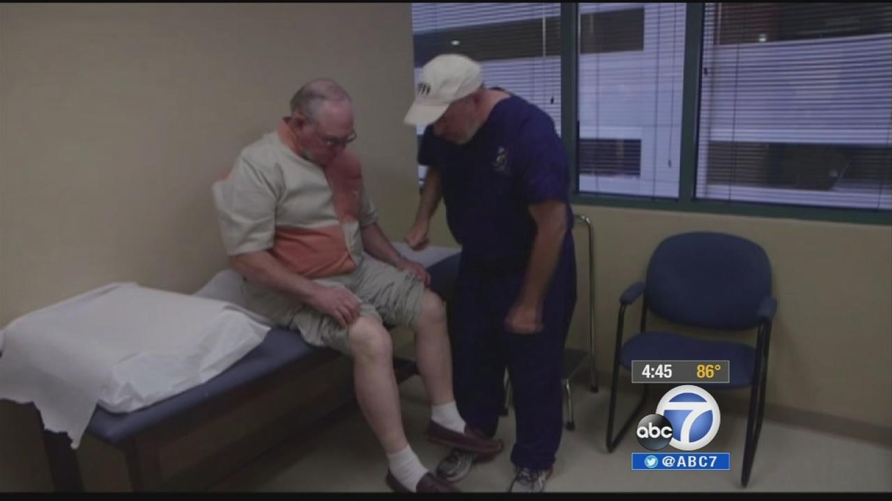 New 3D technology allows doctors to make replacement knees that are the perfect fit.