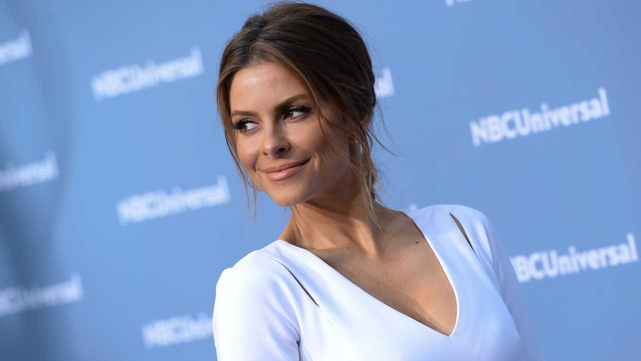 Maria Menounos attends the NBCUniversal 2016 Upfront Presentation at Radio City Music Hall on Monday, May 16, 2016, in New York.