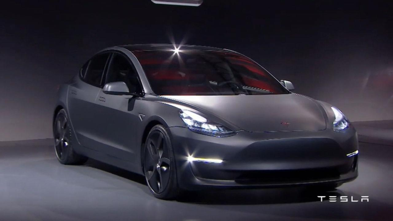 Tesla says Model 3 car to go on sale Friday