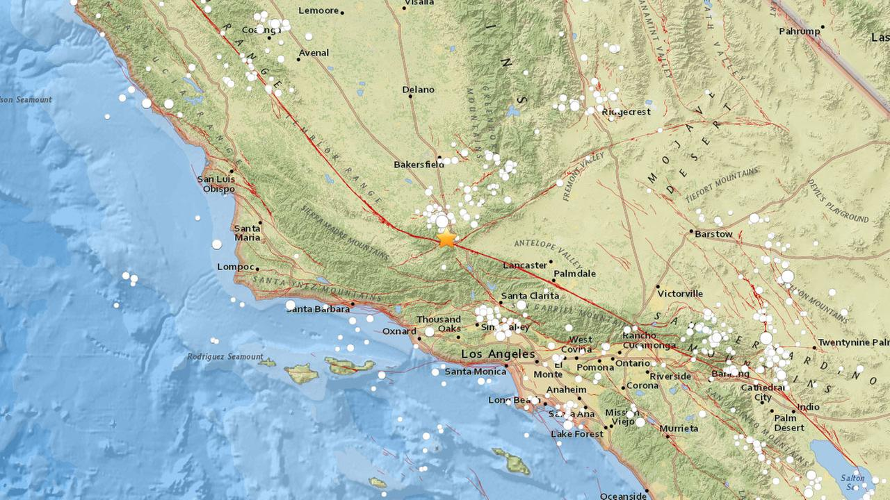 A 3.2-magnitude earthquake struck 2.5 miles north-northwest of Frazier Park on Tuesday, July 4, 2017.