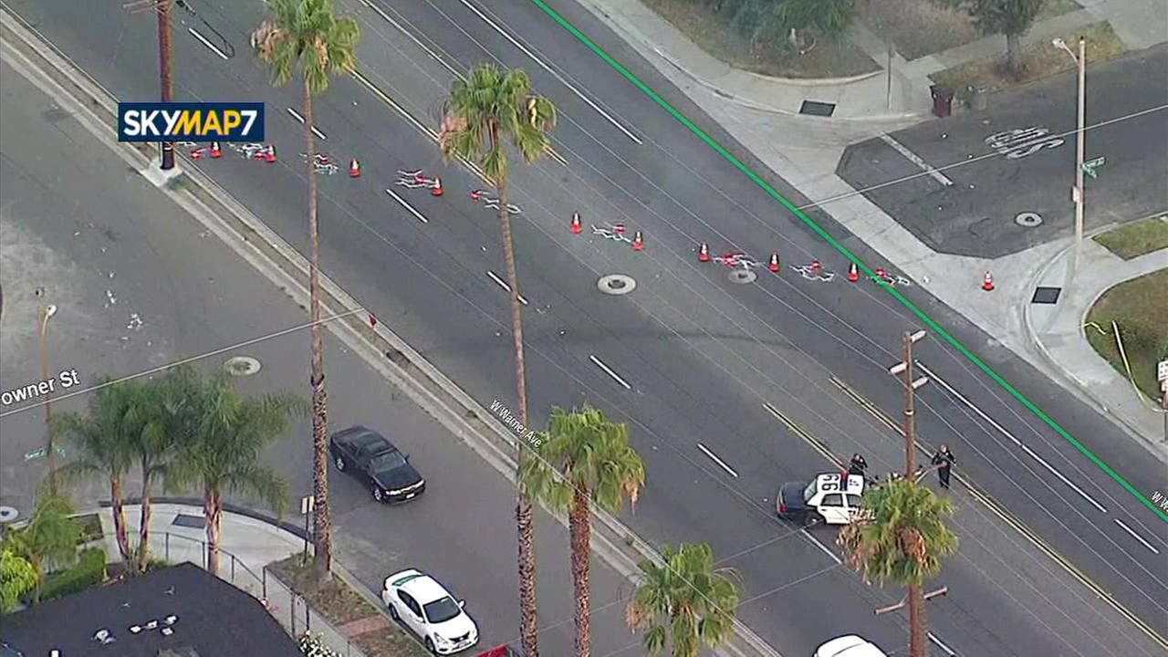 Man fatally struck by SUV in Santa Ana hit and run