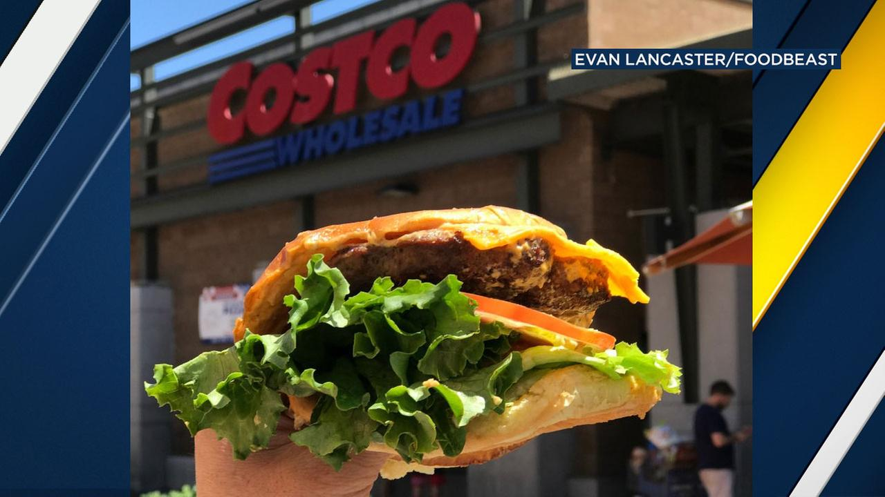 Costco is testing the new burger in five California locations: Pacoima, Corona, Livermore, Folsom and Lakewood.