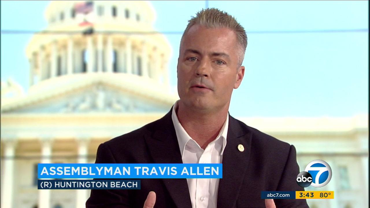 Assemblyman Travis Allen, R-Huntington Beach discusses why he is running for California governor in next years election.