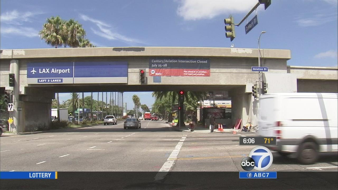 The Century Crunch closure is set to begin Friday night and is expected to cause traffic delays for people heading to LAX.