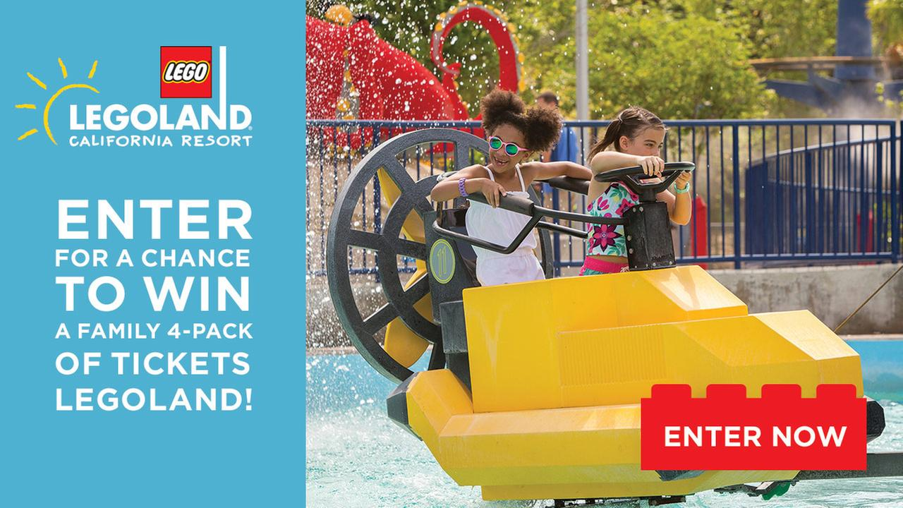 Enter for your chance to win tickets to LEGOLAND California Resort!