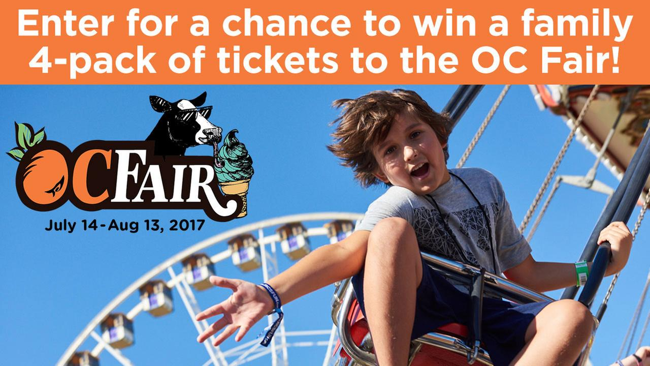 Enter for your chance to win tickets to the OC Fair!