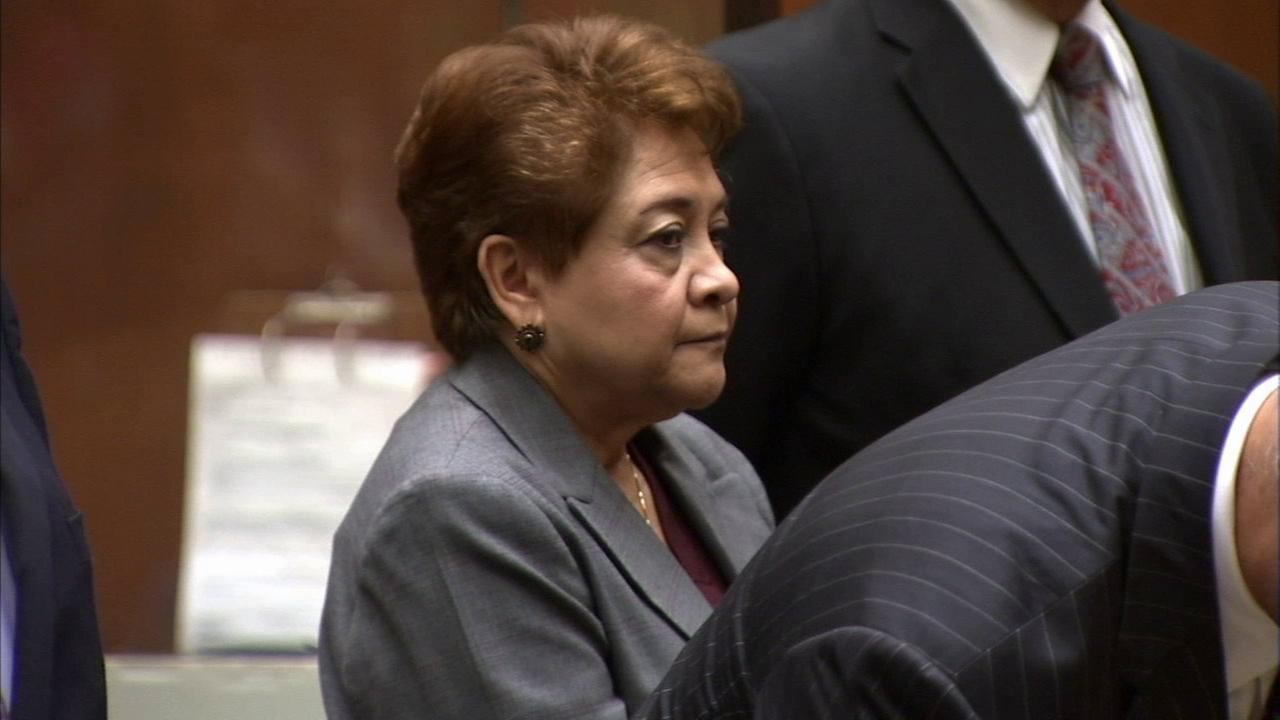 Former Bell City Councilwoman Teresa Jacobo is seen in court in this undated file photo.