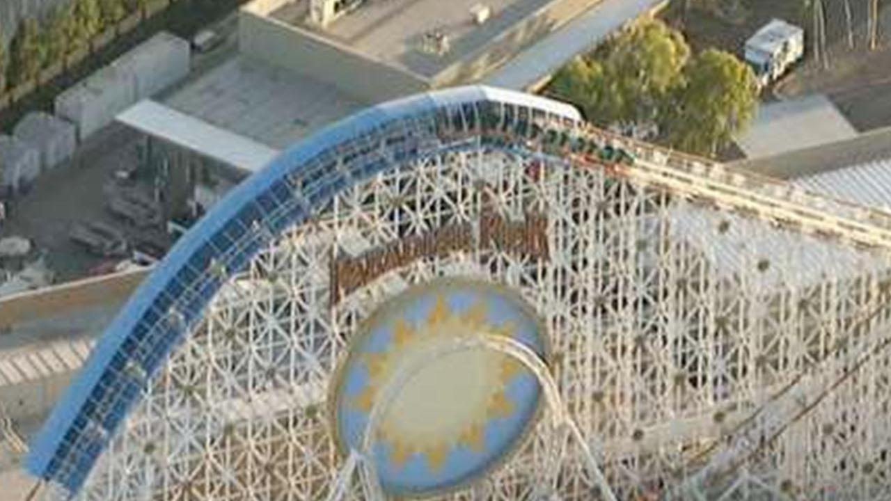 California Screamin, a ride at Disney California Adventure Park, is shown in this undated file photo.