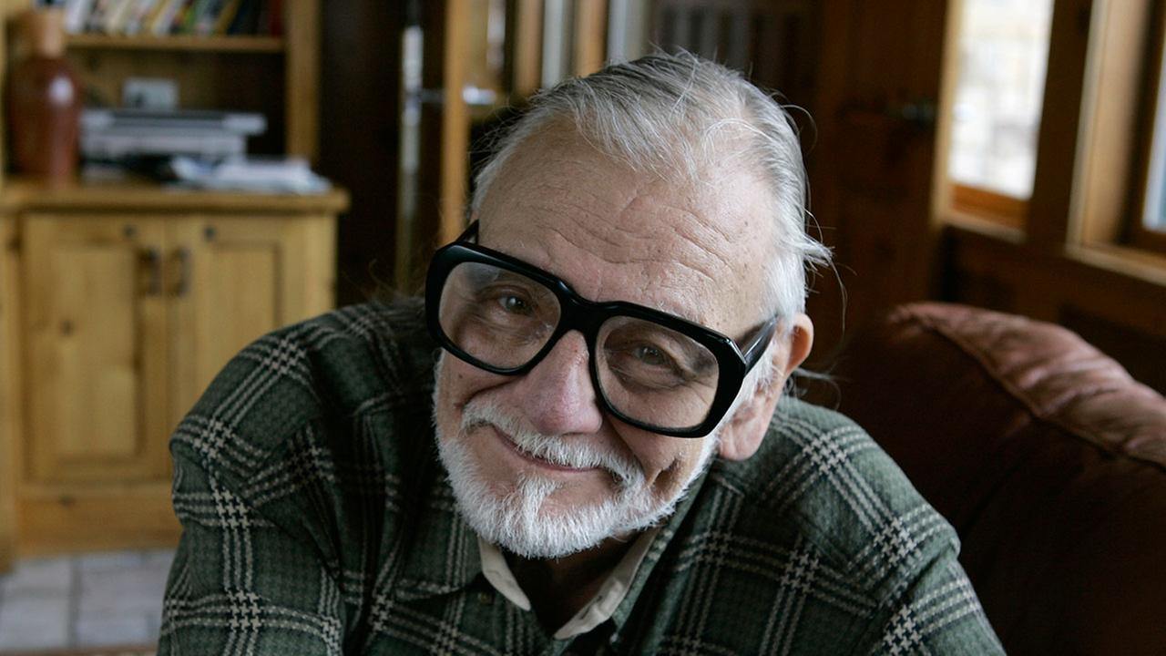 George Romero, best known as director of Night of the Living Dead, pictured on Jan. 21, 2008 at a film festival in Park City Utah.